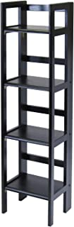 Winsome Wood Terry Shelving, Black