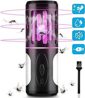 BASEIN Lámpara Antimosquitos Electrico 2 en 1, Asesino de Mosquitos con Lámpara De Camping y Linterna, Mata Mosquitos Insectos Moscas Electrico, Lámpara Camping Antimosquitos Impermeable Portátil