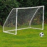 Red de portería de fútbol grande y portátil de repuesto para prácticas deportivas en el patio, para niños