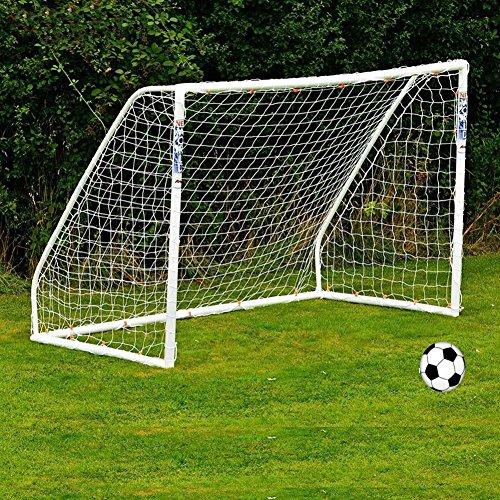 Fullstorlek fotbollsmål nät bärbar fotboll ersättningsnät för barn junior trädgårdsträning övning (1,8 m x 1,2 m)