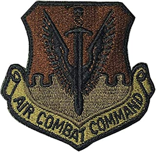 US Air Force Air Combat Command OCP Spice Brown Patch with Hook Fastener