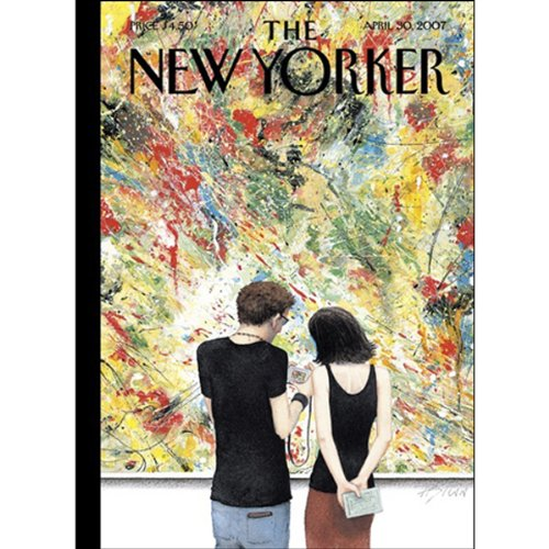 The New Yorker (April 30, 2007) audiobook cover art
