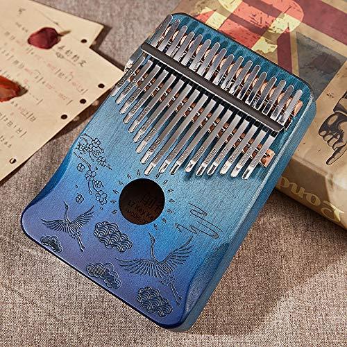 RYDZTMZ Tragbare Mini-Daumenklavier, Finger Piano Kalimba, 17-Ton 21-Ton (Color : 21)