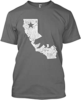 California State Map - Cali Bear Men's T-Shirt