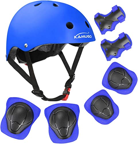 Knee and Elbow Pads with Wrist Guards Helmet Roller Skating Protection for Beginner to Advanced Biking JBM Child /& Adults Rider Series Protection Gear Set for Multi Sports Scooter Skateboarding