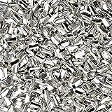 Silver Solder Ultra Tiny Precut Pieces 0.5mm X 1mm X .25mm'Hard' Density Chip (Qty=1500)