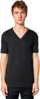 American Apparel Men Tri-Blend V-Neck T-Shirt