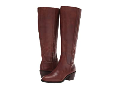 Lucky Brand Iscah Wide Calf (Whiskey) Women