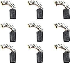 X-Baofu, 10 Piezas de Mini Taladro eléctrico Amoladora reemplazo de escobillas de carbón Piezas de Repuesto for los Motores eléctricos for la Herramienta Rotatoria Dremel (tamaño : Large)