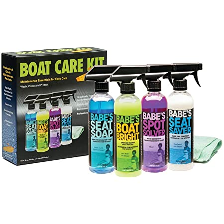 Babe's Boat Care Products-7500 Care Kit for New Boat Owners