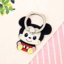 ZOEAST(TM) Phone Ring Super Hero Cartoon Universal 360° Rotating Phone Buckle Tablet Finger Grip Ring Stand Holder Kickstand Tablets Compatible with iPhone 6S SE 7 8 Plus X Samsung iPad (Mickey)