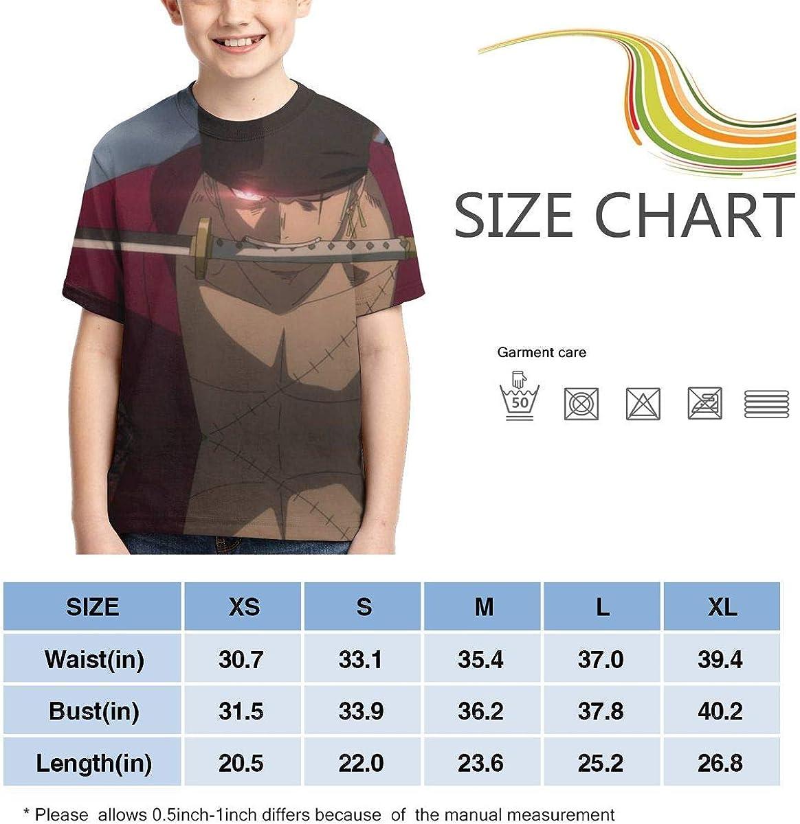florastudio.hu Creativity Funny Roronoa Zoro T Shirt for Boys One ...