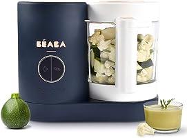 BÉABA - Babycook Néo - Robot Bébé Made in France - Mixeur-Cuiseur - Bol en Verre et Cuve Inox - Diversification...