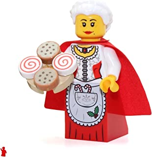 LEGO Holiday Mrs. Claus Minifigure from Santa's Workshop (with Cookie Tray) 10245