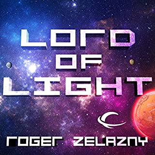 Lord of Light audiobook cover art
