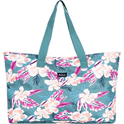 Roxy Wildflower Printed Tote (North Atlantic Heritage Hawaiian) Tote Handbags