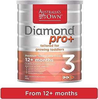 Australia's Own Diamond pro+ Step 3 Premium Toddler Milk 12+ months, 1 x 900 g