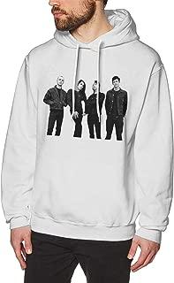 Zblin Mens Hoodie Sweatshirt AFI Band New Cool Style White