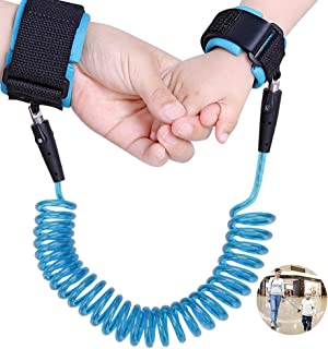 Toddler Leash Anti Lost Toddler Wrist Leash, 360°Rotate Breathable Wristbands Toddler Harness Safety Leashes Child Leash for Shopping Travel