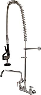 Ridgeyard Commercial Wall Mounted Pre-rinse Faucet, 44