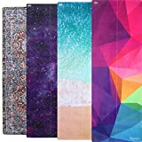 Plyopic All-in-One Yoga Mat Sweat-Grip Mat/Towel Combo   Eco-Friendly Natural Rubber   Best