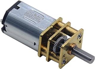 Zxxin-耐久モータ 1ピュコン複数タイプマイクロDCギヤリダクションモーター、GA12-N20減速モーター3V / 6V / 12V、低速モーター、 耐久性 (Speed(RPM) : 15 rev min, Voltage(V) : 3V)