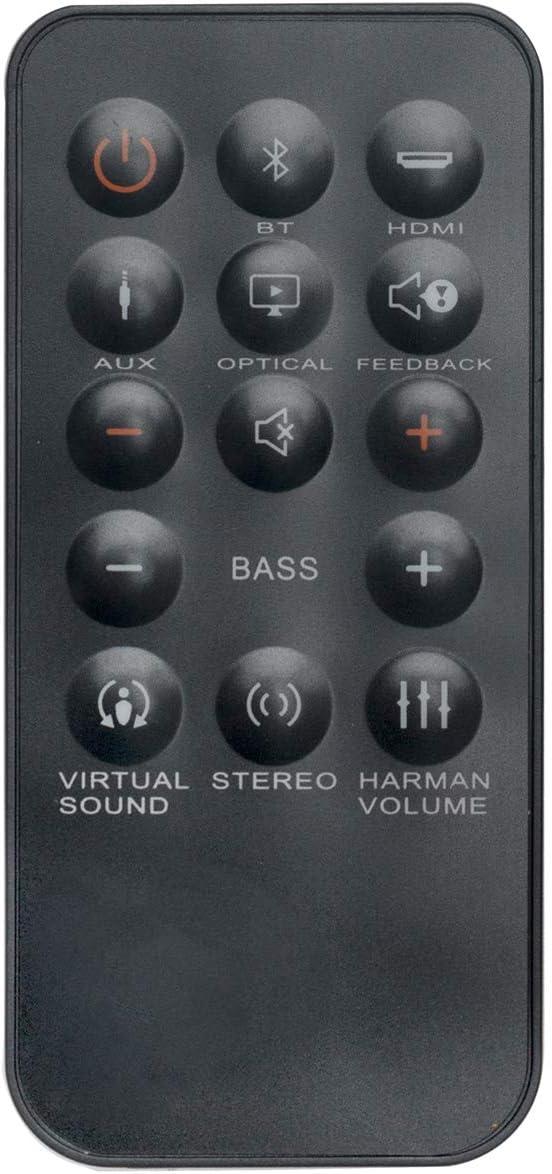 New Replacement Remote Control Applicable for JBL Cinema Soundbar SB350 Sound Bar