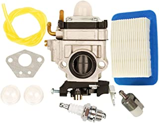 HIFROM Carburetor with Fuel Line Repower Tune-up kit Air Filter for Echo PB651H PB651T PB-755 PB-755H PB-755T PB-755SH PB-755ST PB-751 PB-751H Replace Walbro WYK-192 WYK192