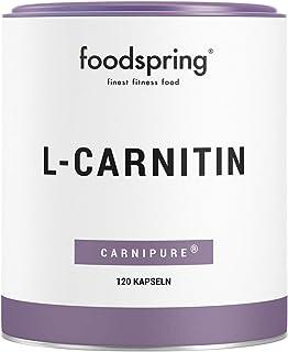 foodspring - L-carnitina - El suplemento de apoyo para la p