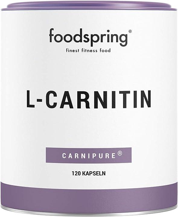 L-carnitina  - ideale per definire il corpo - per trasformare il grasso in energia per il tuo allenamento B01MSBU20C