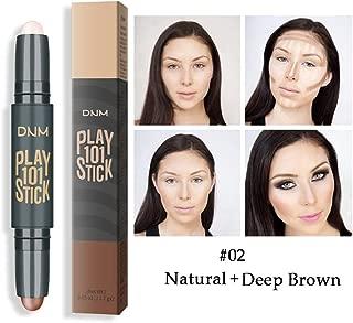 Allbesta 2 en 1 Concealer Contour Stick Contouring y Highlighter en un maquillaje bronceador lápiz