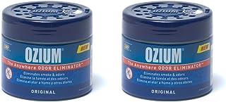 Ozium Smoke & Odors Eliminator Gel. Home, Office and Car Air Freshener 4.5oz (127g), Original Scent (Pack of 2)