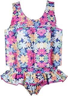 Kids Boy Girls Toddler Floatation Swimsuit with Adjustable Buoyancy Baby Summer Training Float Suit Swim Vest Life Jacket ...