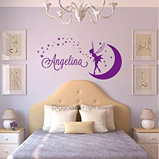 personalised tinkerbell wall stickers