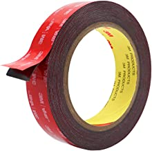 Double Sided Tape, HitLights VHB Mounting Tape Heavy Duty, Waterproof Foam Tape, 16FT Length, 0.94 Inch Width for Car, LED Strip Lights, Home Decor, Office Decor
