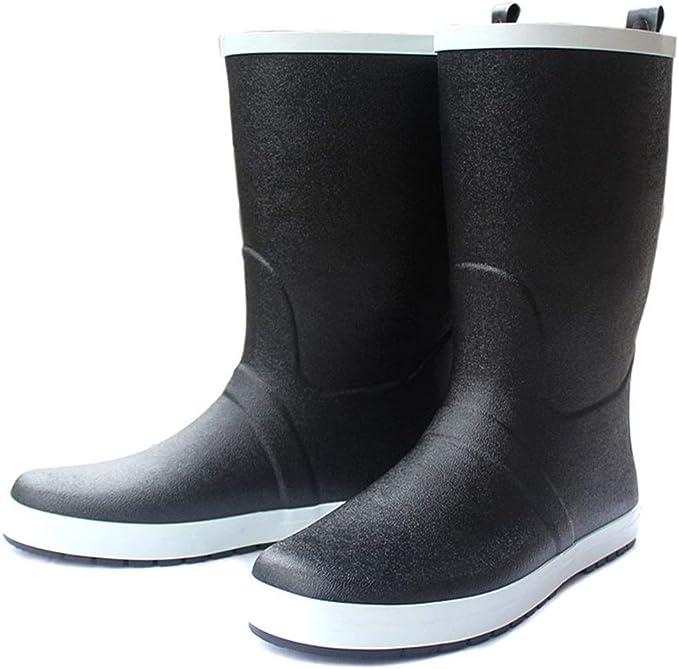 Subobo Adult regenlaarzen voor heren, feestelijke boots