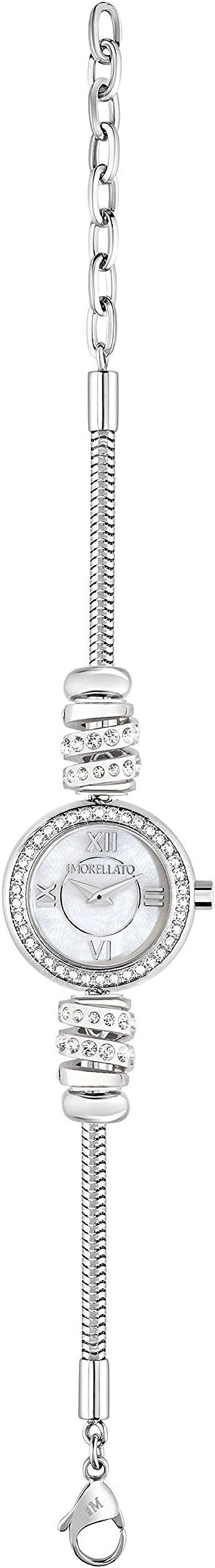 Morellato drops ,orologio per donna,in acciaio e cristalli R0153122540
