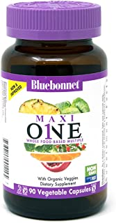 Sponsored Ad - Bluebonnet Nutrition Maxi One (With Iron), Whole Food Multiple, Enzymes, Energy, Vitality, Gluten-Free, Kos...