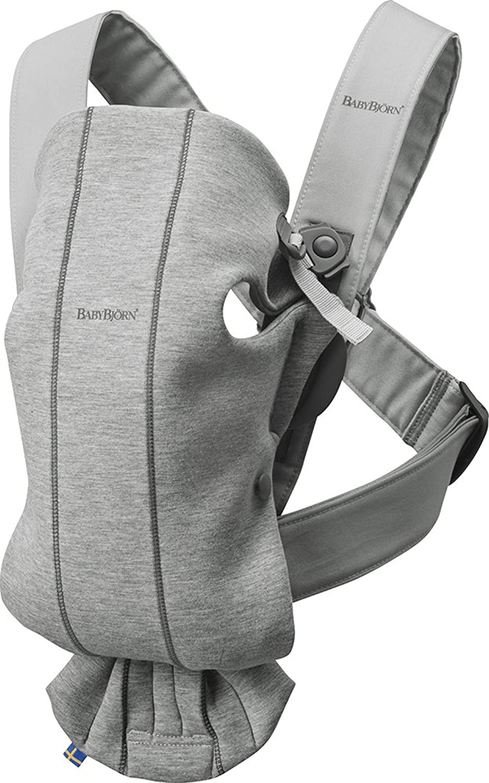 Baby Carrier Mini (Light Grey 3D Jersey)