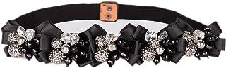 Women's Belt Crystal Gem Luxurious Wild Decoration Waist Belt Tight Wide Belt Garment Accessories Belt