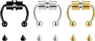Pendientes de aro pequeños de NEWITIN para mujeres y niñas, puedes elegir 12 pares/19 pares/20 pares de pendientes
