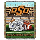 NORTHWEST NCAA Oklahoma State Cowboys Woven Tapestry Throw Blanket, 48' x 60', Home Field Advantage