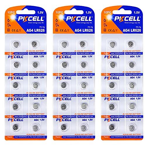 G4 SR626 W LR626 AG4 LR66 177 L626 377 batterie alcaline orologio 0% HG 30 Pezzi