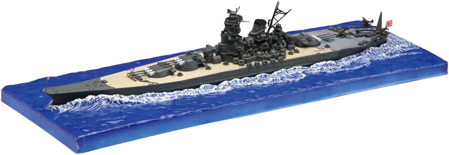 Yamato Late Type With Wave Base (Plastic model)