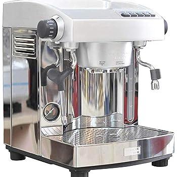 QHYY Cafetera Semiautomática Cafetera de Acero Inoxidable Leche Espuma de Vapor a Alta Presión: Amazon.es: Deportes y aire libre