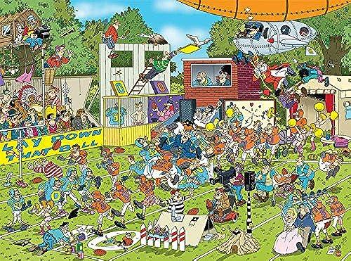 Ceaco Crowd Pleasers Collection von Jan Van Haasteren Chaos auf der Weiß Puzzle (1000 ück)