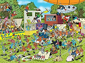 Ceaco Crowd Pleasers Collection by Jan Van Haasteren Chaos On The Field Puzzle (1000 Piece)