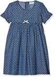 NAME IT Mädchen NMFBERNA DNM 3027 Dress Kleid, Blau Dark Blue Denim, 116