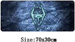 70x30cm TES Mouse pad Host Computer Stand-Alone Game Mouse mat for The Elder Scrolls v Skyrim Large Gaming Mousepad,NO 6