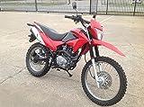 Hawk RPS Dirt Bike 250cc Street Legal Motorcycle Bike : Sporty RED
